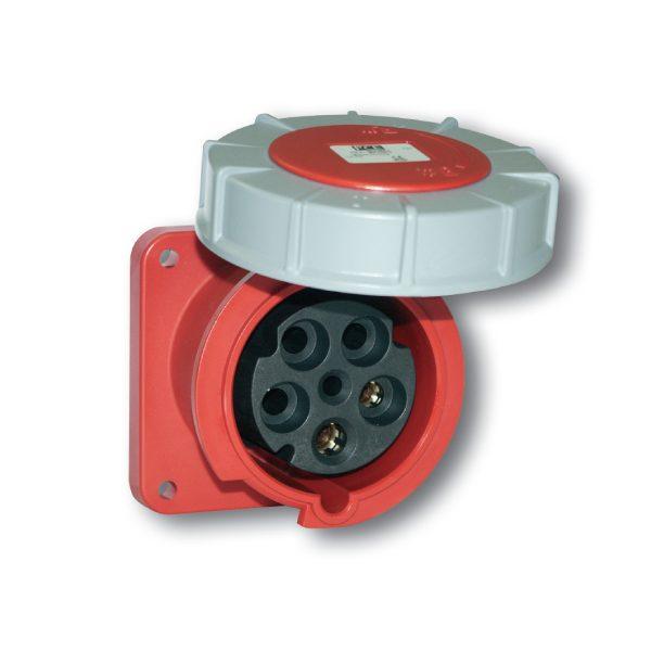 Ổ cắm gắn âm dạng nghiêng (IP67) F433-6