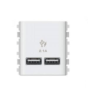 Ổ cắm sạc USB đôi 3032USB_WE